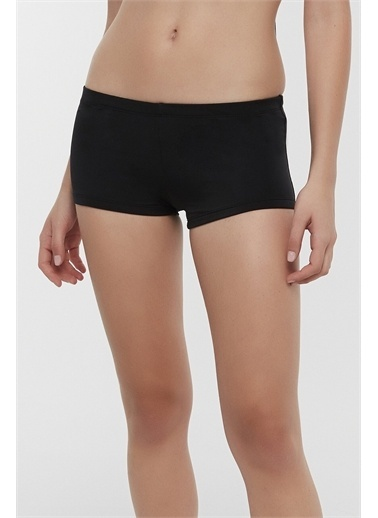 Penti Siyah Basic Boxer Bikini Altı Siyah